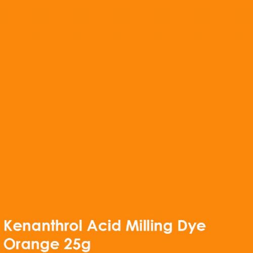 Orange kenanthrol acid milling dye shade 25g